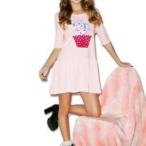 NWT Iron Fist Hello Cupcake Dress Size: Small